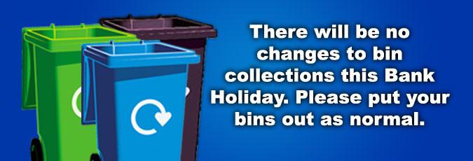 Bank holiday bins
