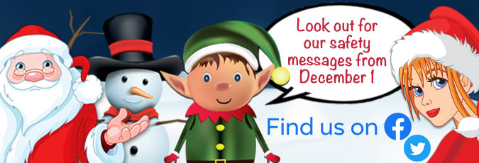Safer Tamworth Christmas message campaign