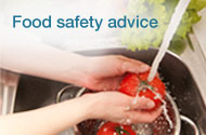 Food poisoning and safety advice
