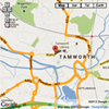 Tamworth area map