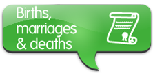 Births,marriages and deaths